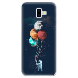 Odolné silikonové pouzdro iSaprio - Balloons 02 na mobil Samsung Galaxy J6 Plus
