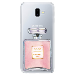 Odolné silikonové pouzdro iSaprio - Chanel Rose na mobil Samsung Galaxy J6 Plus