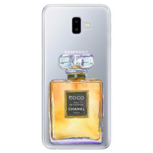 Odolné silikonové pouzdro iSaprio - Chanel Gold na mobil Samsung Galaxy J6 Plus