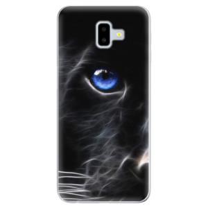 Odolné silikonové pouzdro iSaprio - Black Puma na mobil Samsung Galaxy J6 Plus
