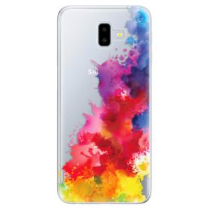Odolné silikonové pouzdro iSaprio - Color Splash 01 na mobil Samsung Galaxy J6 Plus