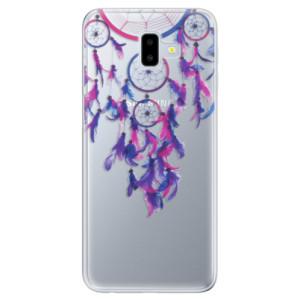 Odolné silikonové pouzdro iSaprio - Dreamcatcher 01 na mobil Samsung Galaxy J6 Plus