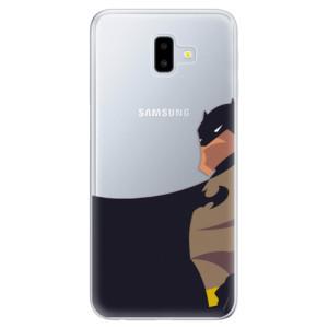 Odolné silikonové pouzdro iSaprio - BaT Comics na mobil Samsung Galaxy J6 Plus