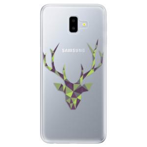 Odolné silikonové pouzdro iSaprio - Deer Green na mobil Samsung Galaxy J6 Plus