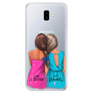 Odolné silikonové pouzdro iSaprio - Best Friends na mobil Samsung Galaxy J6 Plus