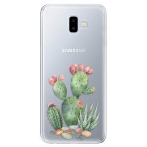 Odolné silikonové pouzdro iSaprio - Cacti 01 na mobil Samsung Galaxy J6 Plus