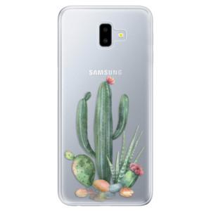 Odolné silikonové pouzdro iSaprio - Cacti 02 na mobil Samsung Galaxy J6 Plus
