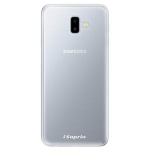 Odolné silikonové pouzdro iSaprio - 4Pure - čiré bez potisku na mobil Samsung Galaxy J6 Plus