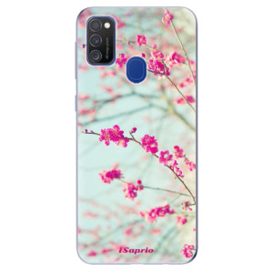Odolné silikonové pouzdro iSaprio - Blossom 01 na mobil Samsung Galaxy M21