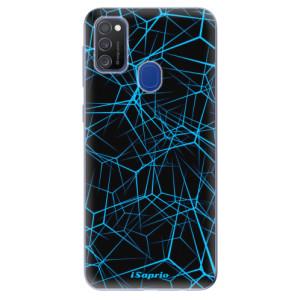 Odolné silikonové pouzdro iSaprio - Abstract Outlines 12 na mobil Samsung Galaxy M21