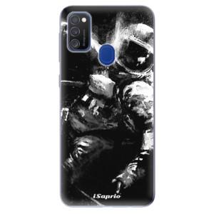 Odolné silikonové pouzdro iSaprio - Astronaut 02 na mobil Samsung Galaxy M21