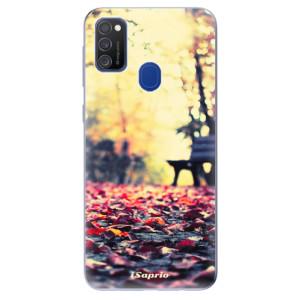 Odolné silikonové pouzdro iSaprio - Bench 01 na mobil Samsung Galaxy M21