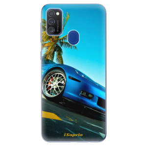 Odolné silikonové pouzdro iSaprio - Car 10 na mobil Samsung Galaxy M21