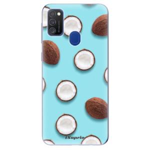 Odolné silikonové pouzdro iSaprio - Coconut 01 na mobil Samsung Galaxy M21