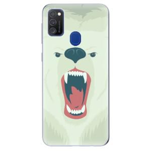 Odolné silikonové pouzdro iSaprio - Angry Bear na mobil Samsung Galaxy M21