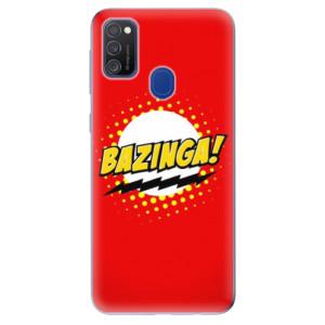 Odolné silikonové pouzdro iSaprio - Bazinga 01 na mobil Samsung Galaxy M21