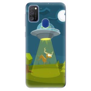 Odolné silikonové pouzdro iSaprio - Alien 01 na mobil Samsung Galaxy M21