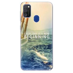 Odolné silikonové pouzdro iSaprio - Beginning na mobil Samsung Galaxy M21