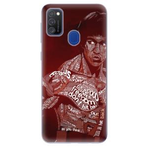 Odolné silikonové pouzdro iSaprio - Bruce Lee na mobil Samsung Galaxy M21