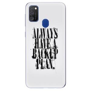 Odolné silikonové pouzdro iSaprio - Backup Plan na mobil Samsung Galaxy M21