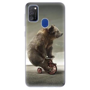 Odolné silikonové pouzdro iSaprio - Bear 01 na mobil Samsung Galaxy M21