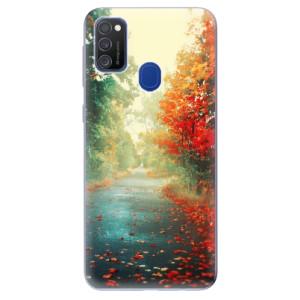 Odolné silikonové pouzdro iSaprio - Autumn 03 na mobil Samsung Galaxy M21