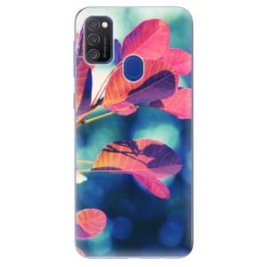 Odolné silikonové pouzdro iSaprio - Autumn 01 na mobil Samsung Galaxy M21