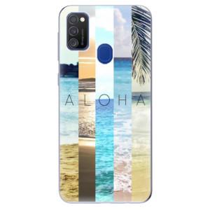 Odolné silikonové pouzdro iSaprio - Aloha 02 na mobil Samsung Galaxy M21
