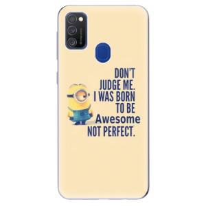 Odolné silikonové pouzdro iSaprio - Be Awesome na mobil Samsung Galaxy M21