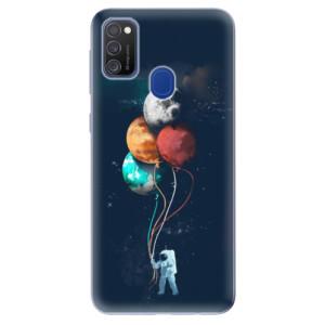 Odolné silikonové pouzdro iSaprio - Balloons 02 na mobil Samsung Galaxy M21