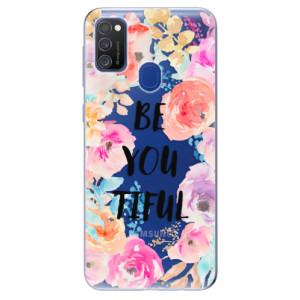 Odolné silikonové pouzdro iSaprio - BeYouTiful na mobil Samsung Galaxy M21