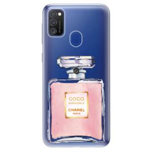 Odolné silikonové pouzdro iSaprio - Chanel Rose na mobil Samsung Galaxy M21