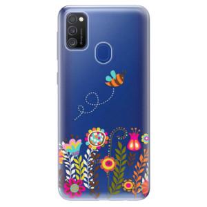 Odolné silikonové pouzdro iSaprio - Bee 01 na mobil Samsung Galaxy M21