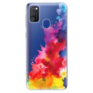 Odolné silikonové pouzdro iSaprio - Color Splash 01 na mobil Samsung Galaxy M21
