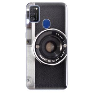 Odolné silikonové pouzdro iSaprio - Vintage Camera 01 na mobil Samsung Galaxy M21
