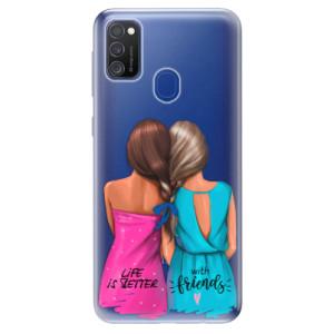 Odolné silikonové pouzdro iSaprio - Best Friends na mobil Samsung Galaxy M21