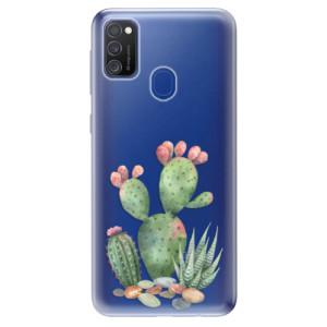 Odolné silikonové pouzdro iSaprio - Cacti 01 na mobil Samsung Galaxy M21
