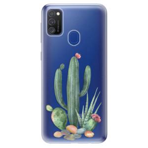 Odolné silikonové pouzdro iSaprio - Cacti 02 na mobil Samsung Galaxy M21