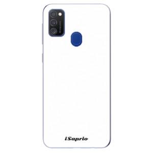 Odolné silikonové pouzdro iSaprio - 4Pure - bílé na mobil Samsung Galaxy M21