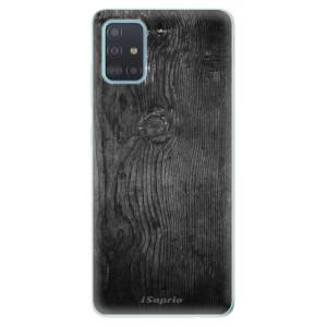 Odolné silikonové pouzdro iSaprio - Black Wood 13 na mobil Samsung Galaxy A51