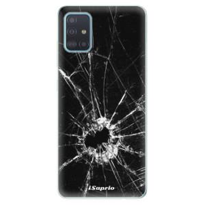 Odolné silikonové pouzdro iSaprio - Broken Glass 10 na mobil Samsung Galaxy A51 - poslední kousek za tuto cenu