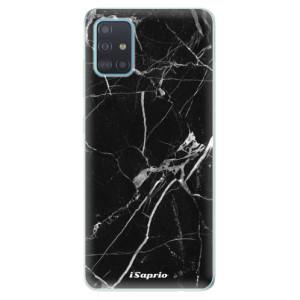 Odolné silikonové pouzdro iSaprio - Black Marble 18 na mobil Samsung Galaxy A51
