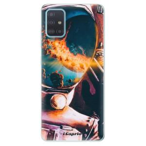 Odolné silikonové pouzdro iSaprio - Astronaut 01 na mobil Samsung Galaxy A51