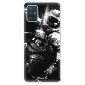 Odolné silikonové pouzdro iSaprio - Astronaut 02 na mobil Samsung Galaxy A51