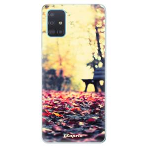 Odolné silikonové pouzdro iSaprio - Bench 01 na mobil Samsung Galaxy A51