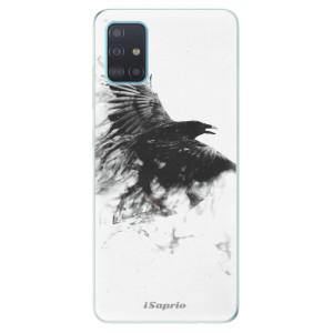 Odolné silikonové pouzdro iSaprio - Dark Bird 01 na mobil Samsung Galaxy A51
