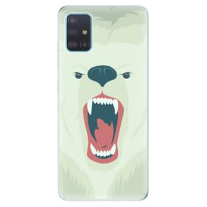 Odolné silikonové pouzdro iSaprio - Angry Bear na mobil Samsung Galaxy A51