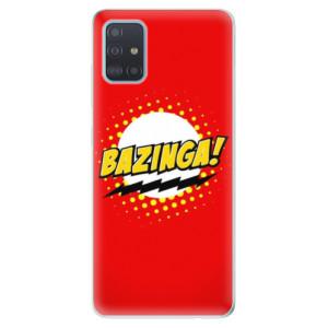 Odolné silikonové pouzdro iSaprio - Bazinga 01 na mobil Samsung Galaxy A51