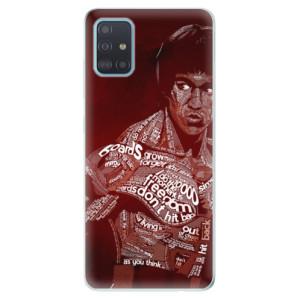 Odolné silikonové pouzdro iSaprio - Bruce Lee na mobil Samsung Galaxy A51