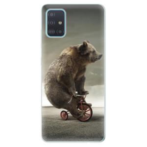 Odolné silikonové pouzdro iSaprio - Bear 01 na mobil Samsung Galaxy A51